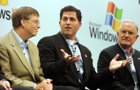 "In fact, by 1997, Apple's financial situation was so dire that Dell CEO and founder Michael Dell, one of Microsoft's biggest partners, once said that if he were in Jobs' shoes, he'd ""shut it down and give the money back to the"