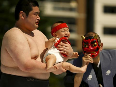 The Japanese government is offering cash incentives in an effort to encourage women to have children.