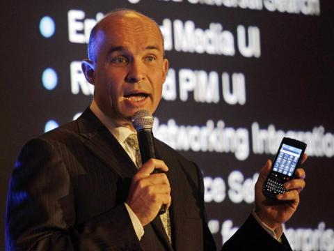 "Jim Balsillie, then RIM's co-CEO: ""It's kind of one more entrant into an already very busy space with lots of choice for consumers. But in terms of a sort of a sea-change for BlackBerry, I would think that's overstating it."""
