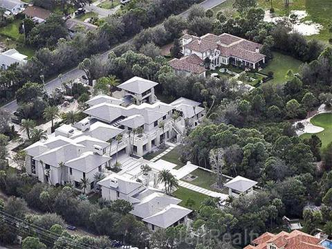 Jordan also reportedly bought a house on a golf course in Jupiter, Florida, for $4.8 million in 2013 and spent $7.6 million on renovations.