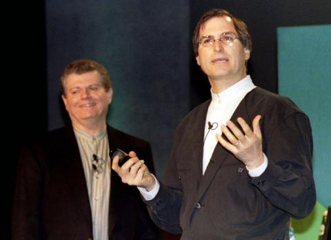 In late 1996, Apple announced plans to bring cofounder Steve Jobs back into the fold 11 years after he left the company by acquiring his startup NeXT for $429 million — just in time for Jobs to join then-Apple CEO Gil Amelio on