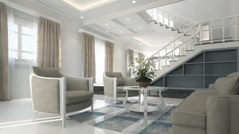 Lujo, vivienda moderna, espacioso, caro 5 estrellas