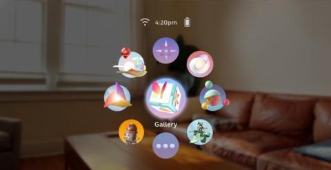 Interfaz LuminOS de Magic Leap