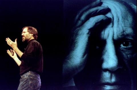 "But in early 1998, at yet another Macworld Expo in San Francisco, Jobs ended his keynote with the first of his soon-to-be ubiquitous ""One More Thing"" announcements: Thanks to Jobs' product direction and Microsoft's help, Apple was"