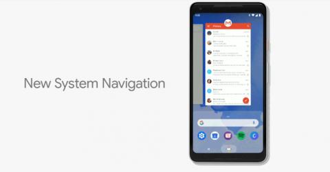 Navegación por gestos de Android P
