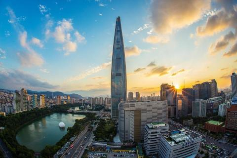 On New Year's Day 2018, the Lotte World Tower opened in Seoul, South Korea. Stretching an astounding 1,819 feet, it's the fifth tallest building in the world.