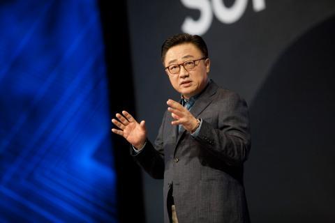 El presidente y consejero delegado de Samsung Electronics, Dong-Jin Koh