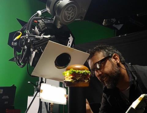 Publicidad anuncio Hamburguesa
