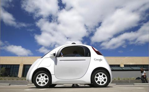 A purpose-built self-driving vehicle, called Firefly, enters the picture in 2014.