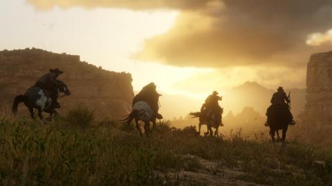 El concepto de 'Red Dead Redemption 2' es muy similar a los juegos de 'GTA'. Gráficamente, es muy distinto.