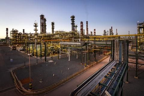 La refinería de Repsol en Tarragona