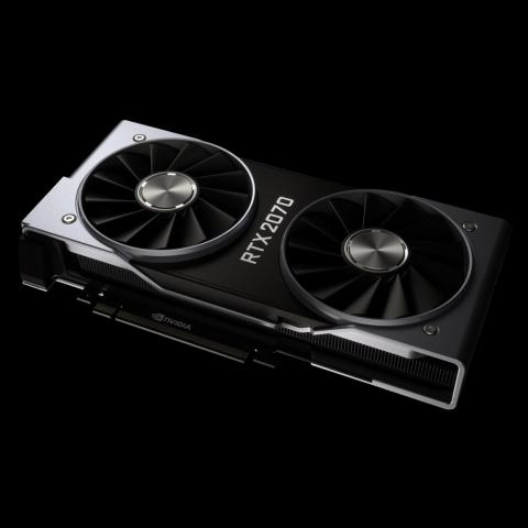 The RTX 2070 is the first and cheapest card in the 2000 series.