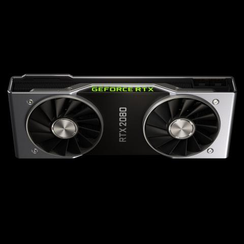 The RTX 2080 is the middle-range card of the three, and is available for pre-order.
