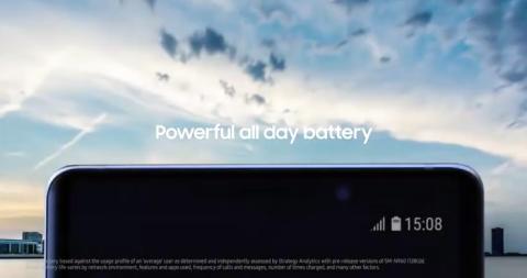 Captura de pantalla de vídeo filtrado Samsung Galaxy Note 9