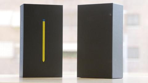 Samsung Galaxy Note 9 packaging