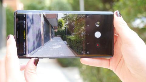 Samsung Galaxy Note 9 vídeo