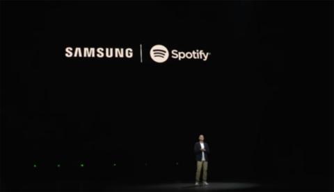 Alianza Samsung y Spotify