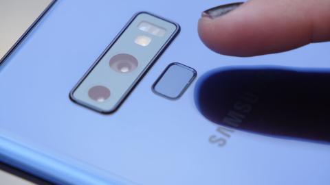 Sensor huellas Samsung Galaxy Note 9
