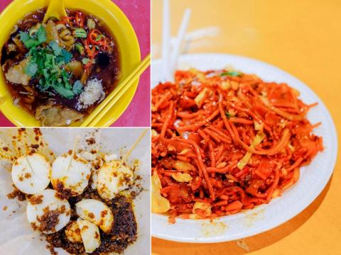 In Singapore, I spent several days trying as much Singaporean food as I could manage to fit in my stomach. Singaporean food is known for being a tasty mix of Chinese, Indian, and Malay cuisines. It may not look pretty, but these