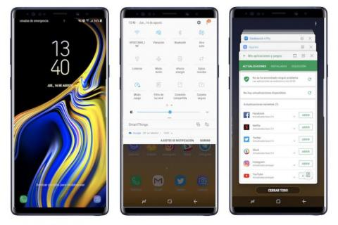 Software Samsung Galaxy Note 9