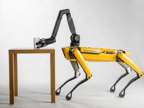 Spotmini, el robot inspirado en los perros de Boston Dynamics
