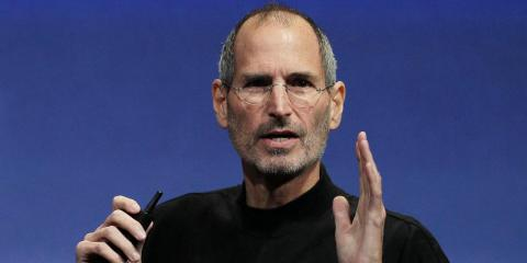 Steve Jobs, pictured in 2010.