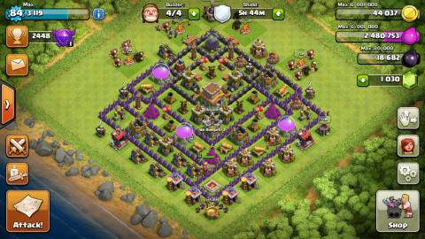 "Strategy game ""Clash of Clans"" tops the list with 3.38 billion hours of gameplay clocked between May and July."