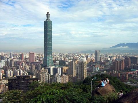 Stretching 101 stories, the aptly named Taipei 101 was built in 2004. It hovers over Taiwan and cost $1.8 billion.