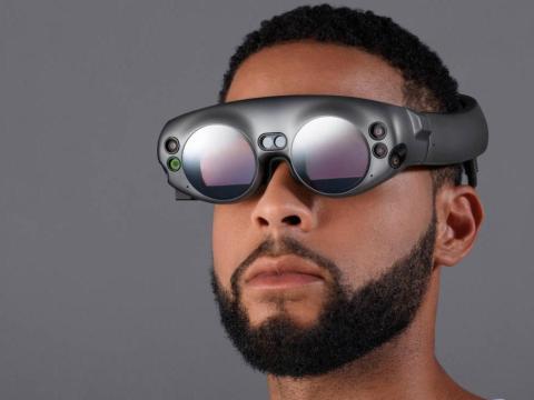 Los sensores de las gafas permiten percibir el mundo exterior [RE]