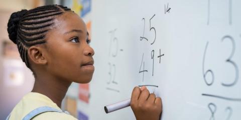 Theyteach their kids math early on