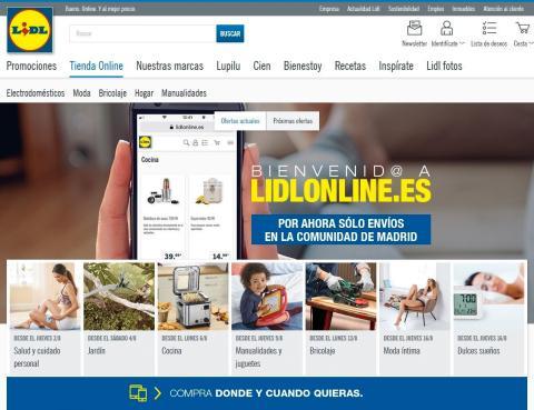 Tienda online Lidl