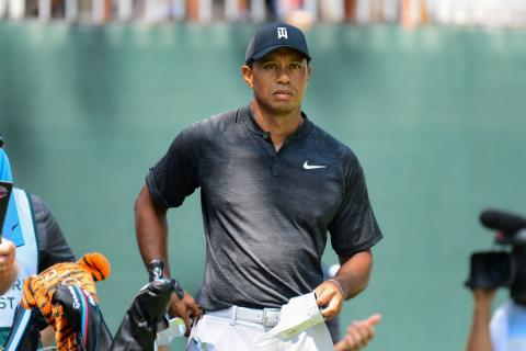 Tiger Woods, durante el Northern Trust