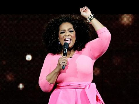 """""""The reason I've been able to be so financially successful is my focus has never, ever for one minute been money."""" — Oprah Winfrey, business magnate"""