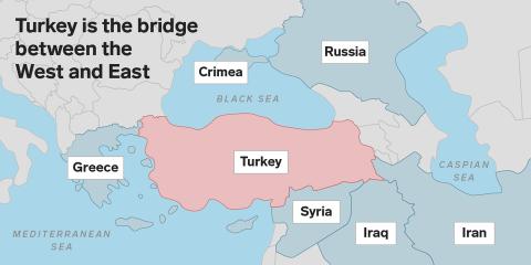 Turquía mapa
