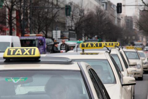 Los taxistas alemanes protestaron contra Uber desde su llegada en 2013.