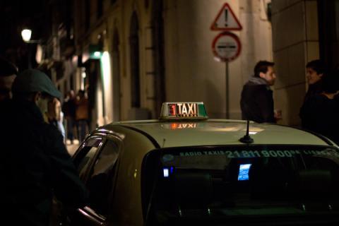 Taxi de Lisboa.