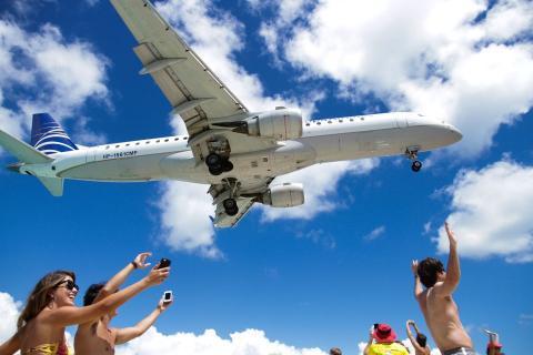 viajes avión