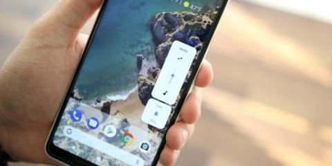 Control de Volumen Android P