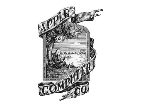 Wayne dibujó el primer logo de Apple a mano