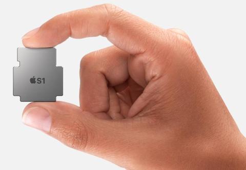 """Apple llama a sus chips de Apple Watch la """"serie S""""."""