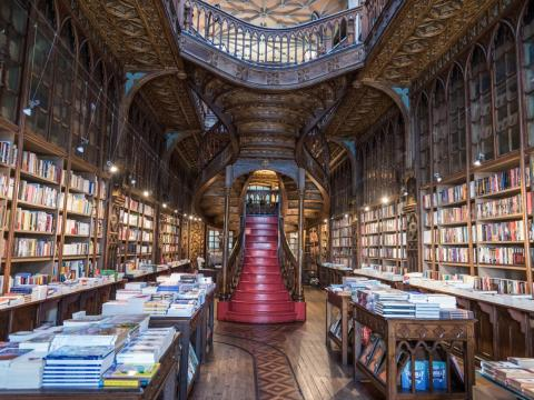 Located in the coastal city of Porto, the bookstore has become popular thanks to its association with J.K. Rowling (who reportedly based certain Harry Potter settings on the store), and breathtaking photos posted to Instagram.