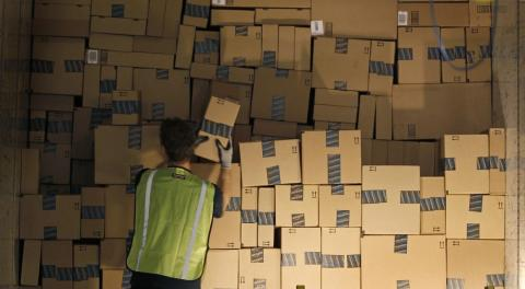 "Working conditions in Amazon's fulfillment centers have long been notoriously bad and there are some hilarious stories about unhappy workers ""rebelling."""