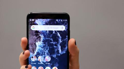 El Xiaomi Mi A2 no lleva notch