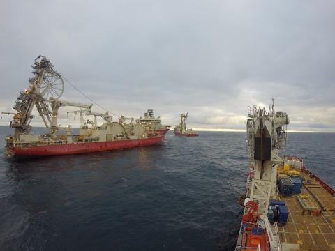 Yacimientos de gas de Edradour y Glenlivet, en el mar del Norte.