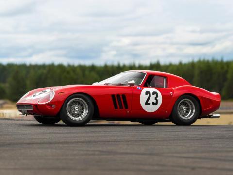 1. Ferrari 250 GTO de 1962: vendido por 48,4 millones de dólares por Sotheby's en 2018 [RE]