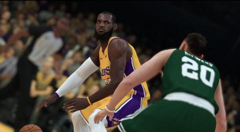 1) LeBron James, Los Angeles Lakers - 98 Overall