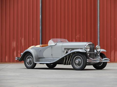 10. Duesenberg SSJ de 1935: vendido por 22 millones de dólares por Gooding & Company en 2018 [RE]