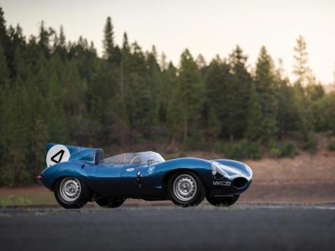 11. Jaguar D-Type de 1955: vendido por 21,78 millones de dólares por Sotheby's en 2016 [RE]