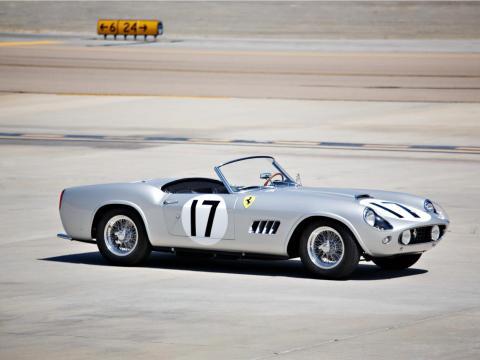 14. Ferrari 250 GT LWB California Spider Competizione de 1959: vendido por 18,5 millones de dólares por Gooding & Company en 2015 [RE]