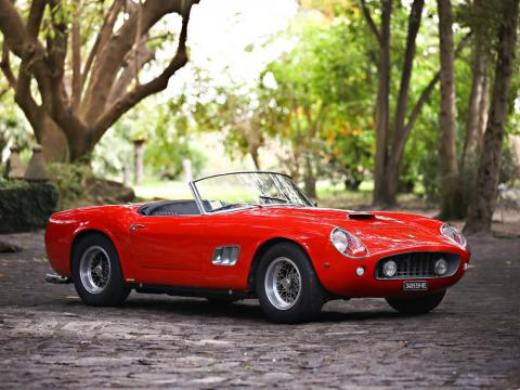 17. Ferrari 250 GT SWB California Spider de 1961: vendido por 17,16 millones de dólares por Gooding & Company en 2016 [RE]